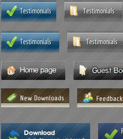 Tab Design In Flash Stylish Vertical Menu Bar Flash