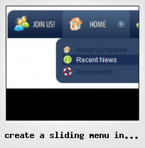 Create A Sliding Menu In Flash