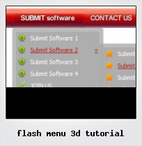 Flash Menu 3d Tutorial