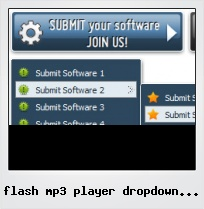 Flash Mp3 Player Dropdown List Code  Flash Menus