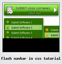 Flash Navbar In Css Tutorial