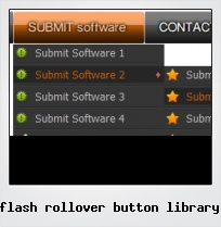 Flash Rollover Button Library