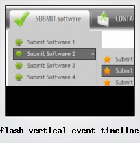 Flash Vertical Event Timeline