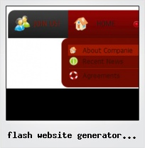Flash Website Generator Software