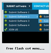 Free Flash Cs4 Menu Dropdown Component