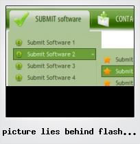 Picture Lies Behind Flash Banner