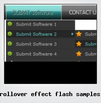 Rollover Effect Flash Samples