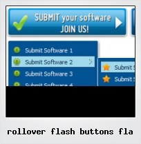 Rollover Flash Buttons Fla