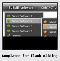 Templates For Flash Sliding