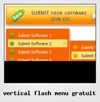 Vertical Flash Menu Gratuit