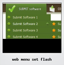 Web Menu Set Flash