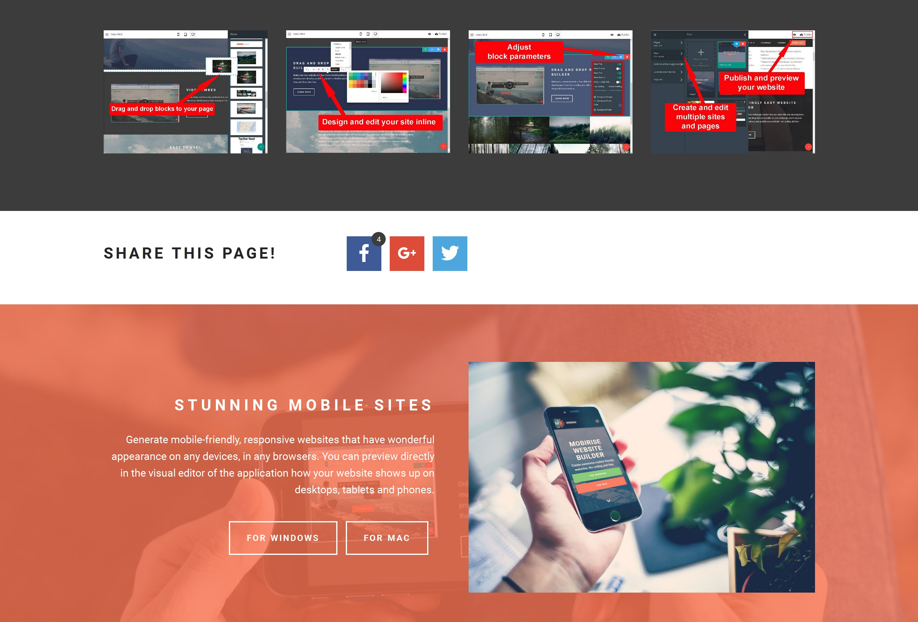 Free Responsive Web Page  Creator
