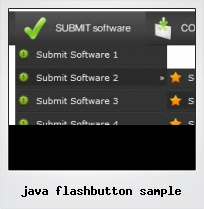 Java Flashbutton Sample