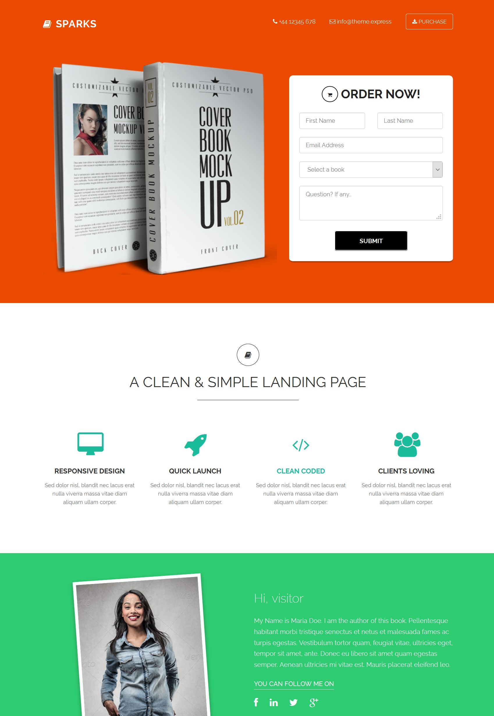 Responsive Bootstrap Store Theme