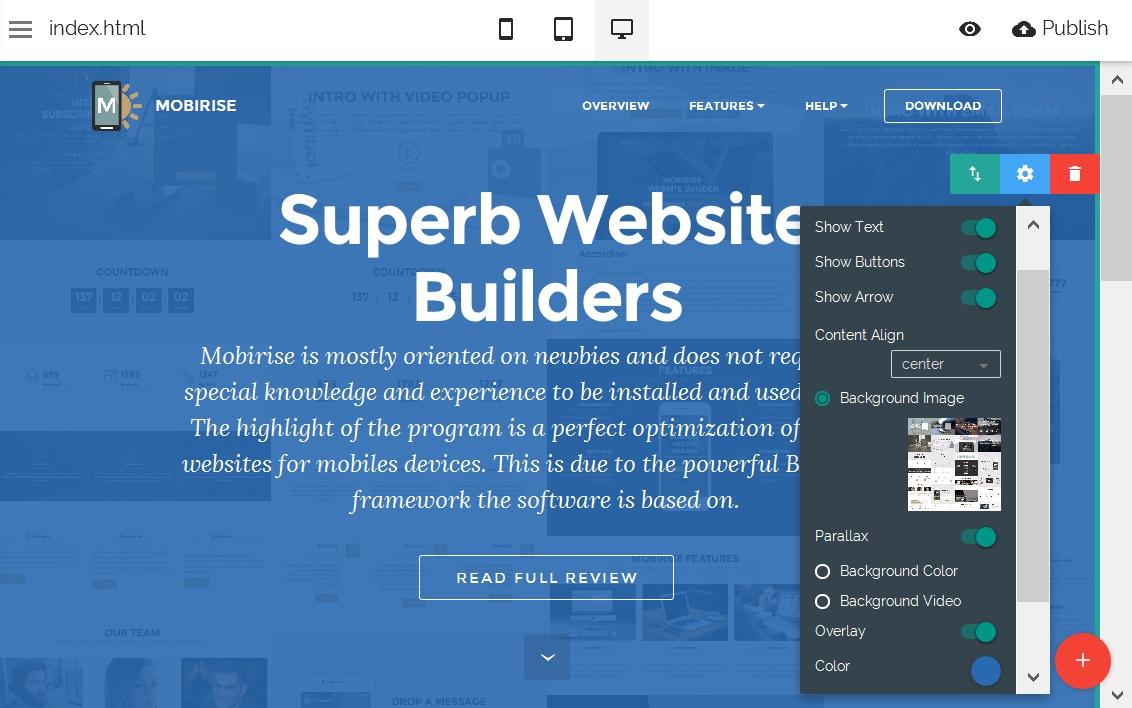 HTML Website Editor