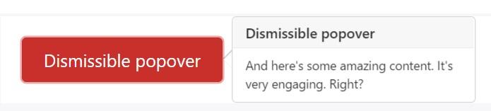Dismiss  upon  following click