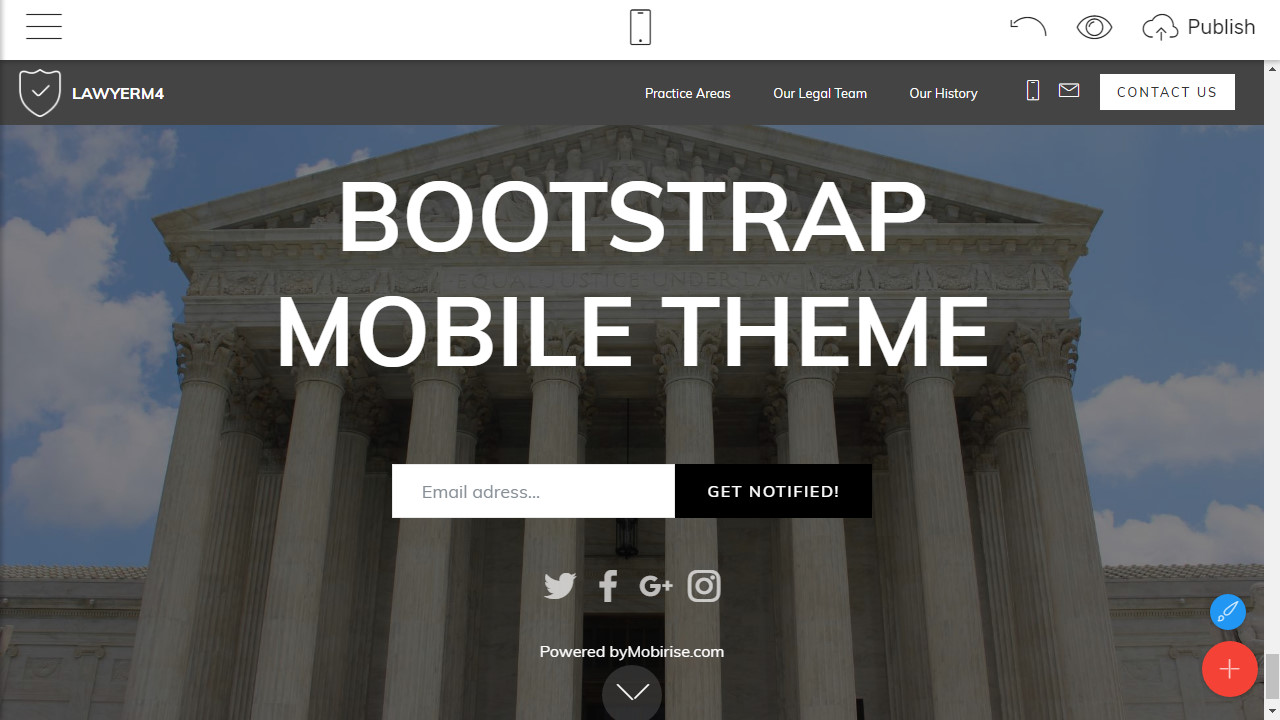 Responsive Webpage Template