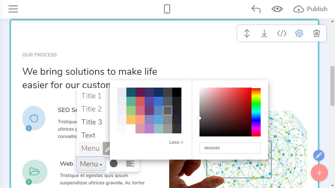 Offline Website Design Maker